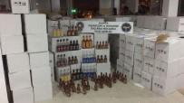 ALKOLLÜ İÇKİ - Alanya'da 7 Bin 297 Şişe Kaçak/Sahte Alkollü İçki Ele Geçirildi