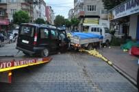 Alkollü Sürücü Duran Araca Çarptı