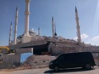 SAĞLıK BAKANı - Cumhurbaşkanı Erdoğan Çamlıca Camii'nde İncelemelerde Bulundu