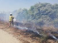 Edremit'te Art Arda Yangın Çıktı