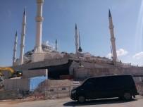 SAĞLıK BAKANı - Erdoğan Çamlıca Camii'nde incelemelerde bulundu