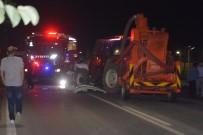 DAYAK - Fatsa'da Trafik Kazası Açıklaması 2 Yaralı