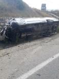 Karaisalı'da Trafik Kazası Açıklaması 18 Yaralı