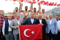 BAŞPEHLİVAN - Kızıldağ'ın Başpehlivanı İbrahim Bölükbaşı Oldu