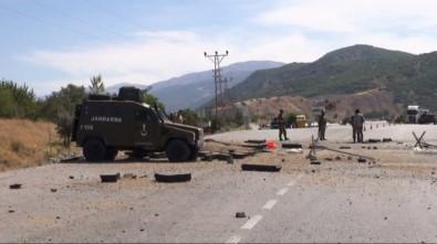 Teröristlerle çatışma çıktı: 1 asker yaralı