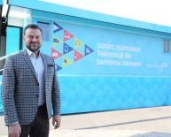 SOSYAL SORUMLULUK PROJESİ - Türk Telekom Eğitim Tırı İle Anadolu'da İpek Yolu Mesafesinin Üç Katı Yol Katedildi