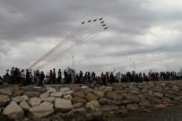 GÖSTERİ UÇUŞU - Türk Yıldızları, Beyşehir Gölü Semalarında Yıldızlaştı