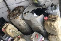 900 Litre Kaçak Akaryakıt Ele Geçirildi