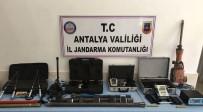 KURUSIKI TABANCA - Antalya'da Kaçak Kazıya 16 Tutuklama