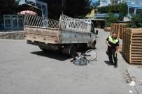 Bayramiç'te Meydana Gelen Trafik Kazasında 1 Kişi Yaralandı