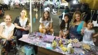 Burhaniye'de Çocuklara Ahşap Boyama Kursu