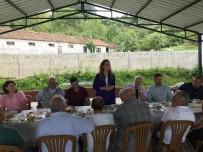 YASIN ÖZTÜRK - Düzce Üniversitesi Akçakoca'nın Davutağa Köyüne Konuk Oldu