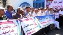 GIDA YARDIMI - Gazze'de UNRWA Protestosu