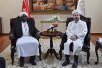 GÜNEY SUDAN - Güney Sudan İslam Konseyi Başkanı İle Bir Araya Geldi