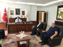 MAHMUT ARSLAN - HAK-İŞ'den Ziyaret  Başkan Dursun Ay'a Ziyaret
