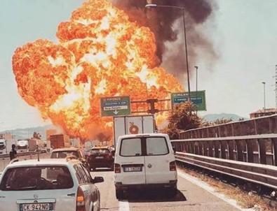 İtalya'da büyük patlama: Ölü ve yaralılar var