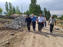 ERCAN ÖTER - Kaymakam Öter Köylerde Yol Çalışmalarını İnceledi