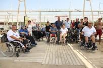 ENGELLİ RAMPASI - Manavgat Belediyesi'nden 'Özgür Plaj'