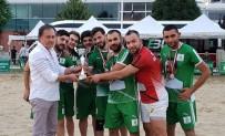 SÜTLÜCE - Plaj Futbolunda Şampiyon Tepebaşı Belediye Spor