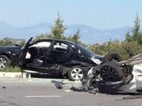 SARıKEMER - Söke'de Trafik Kazası Açıklaması 4 Yaralı