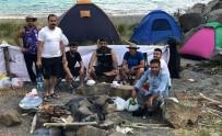 NEMRUT - Turistlerin Kamp İçin Yeni Gözdesi Açıklaması Nemrut Krater Gölü