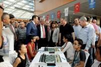 SATRANÇ TURNUVASI - Uluslararası Altın Kayısı Satranç Turnuvası Başladı