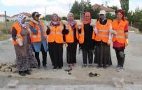 TÜRKIYE İŞ KURUMU - Yolları Parke Taşıyla 'Dantel' Gibi İşlediler