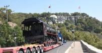 DEMİRYOLLARI - 20. Yüzyılın İlk Buharlı Lokomotifi Karayoluyla Kepez'e Geldi