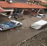 Afyonkarahisar'da Şiddetli Yağış Ve Dolu Hayatı Felç Etti