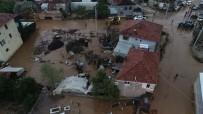 AK PARTİ İLÇE BAŞKANI - Antalya'da Sel Suları Seraları Ve Ekili Alanları Vurdu