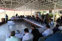 GARNİZON KOMUTANI - Başkan Asya, Protokol Üyelerini Kale'de Ağırladı