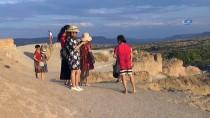 ORTAHISAR - Binlerce Turist Kapadokya'da Gün Batımı Keyfini Yaşıyor