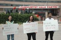 SİYASİ PARTİ - CHP Önünde Kurultay Protestosu