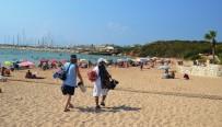 APOLLON TAPINAĞI - Didim'de 3. Koy Plajı Yenilendi