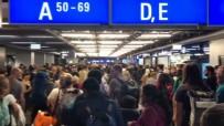 FRANKFURT - Frankfurt Havaalanında Alarm