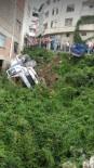 Freni Boşalan Kamyon Arsaya Uçtu Açıklaması 1 Yaralı
