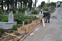 ÖRENCIK - Gülüç'te Mezarlıklar Bakımdan Geçiriliyor