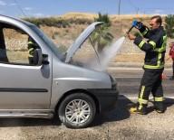 İSMAIL ÖZDEMIR - Hafif Ticari Araçta Yangın