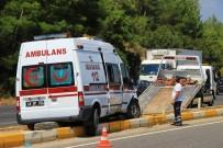 SITKI KOÇMAN ÜNİVERSİTESİ - Hasta Taşıyan Ambulans Kaza Yaptı