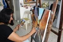 ANTAKYA - Kadın Ressamdan Spatula Devrimi