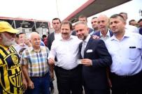 Mehmet Yiğiner - Kahramankazan Belediye Başkanı Taraftarlarla Birlikte Kombine Aldı