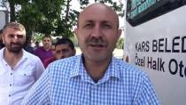 HALK OTOBÜSÜ - Kars'ta Dolmuş Şoförlerinden Kontak Kapatma Eylemi