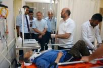 MUSTAFA KAYA - Korkuteli Kaymakamını Taşıyan Resmi Araç Kaza Yaptı Açıklaması 1 Yaralı