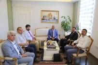 Mersin Büyükşehir Belediye Başkanı Kocamaz'dan , Vali Tavlı'ya Ziyaret