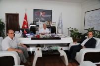 MESUT ÖZAKCAN - Müftü Aksu'dan Başkan Özakcan'a Ziyaret