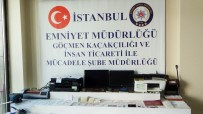 İNSAN TİCARETİ - Sahte Pasaport Şebekesine Operasyon Açıklaması 1 Tutuklama