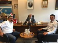 ÖZEL KUVVETLER - Şehit Halisdemir'in Kardeşi, Yalçın Topçu'yu Ziyaret Etti