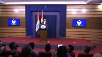 SÜLEYMANIYE - 'Türkiye Haklı Gerekçeyle Hava Sahasını Süleymaniye'ye Kapattı'