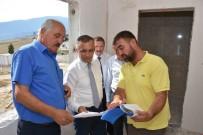 MEHMET UZUN - Vali Çeber,  Emekli Kent Proje Alanındaki Çalışmaları İnceledi