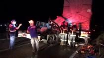Aksaray'da Kamyonet Tıra Çarptı Açıklaması 1 Ölü, 1 Yaralı